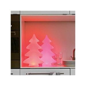 Arbre lumineux 40 cm LED multicolore d'intérieur FLEUR D'AMI