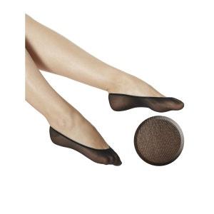 Collants LAUVE - Lot de 3 protège pieds polyamide COLLANTS LAUVE