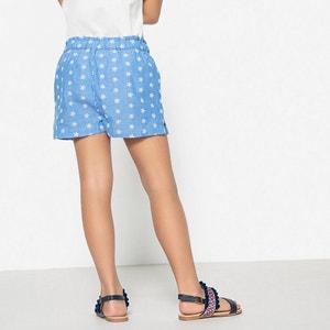 Shorts, bestickt, 3-12 Jahre La Redoute Collections