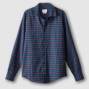 Koszula z długm rękawem, prosty krój, 100% bawełna La Redoute Collections
