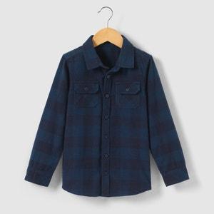 Chemise à carreaux 3-12 ans abcd'R