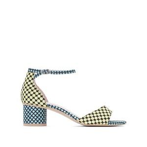 Sandales imprimé graphique MADEMOISELLE R