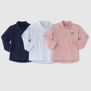 3er-Pack Rollkragen-Shirts 1 Monat - 3 Jahre R édition