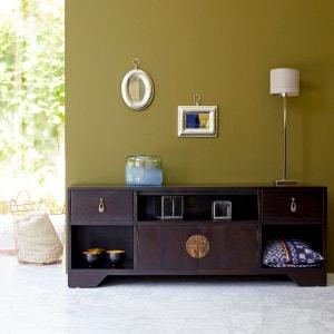 Meuble tv meuble tv design blanc d 39 angle la redoute for Meuble tv tikamoon