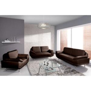 Canapé fixe Ottawa : 3 places + 2 places + fauteuil RELAXIMA