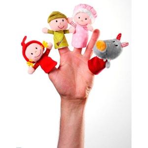 Marionnettes à doigts : Le petit chaperon rouge LILLIPUTIENS