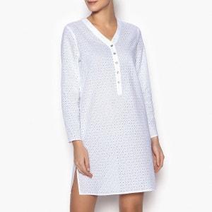 Chemise de nuit pur coton La Redoute Collections