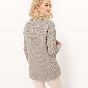 Sweter z długim rękawem z lnu SUD EXPRESS