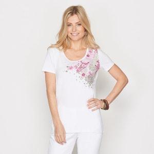 Motif Print T-shirt ANNE WEYBURN