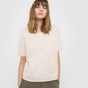 Short-Sleeved Padded Sweatshirt La Redoute Collections
