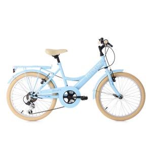 Vélo enfant 20'' Toscana 6 vitesses bleu clair TC 35 cm KS Cycling KS
