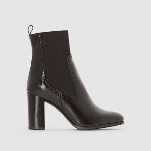 Boots cuir à talon Adil JONAK