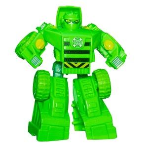 Figurine Transformers : Rescue Bots : Boulder the Constrution-Bot PLAYSKOOL