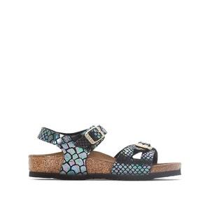 Sandalen met slangenprint Rio BIRKENSTOCK