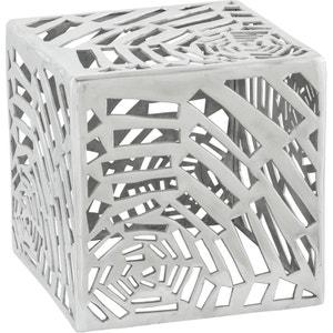 Table basse carrée design en aluminium Toile KOKOON DESIGN
