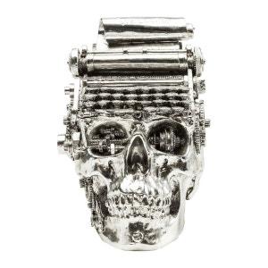 Tirelire Steampunk Typewriter chromé Kare Design KARE DESIGN
