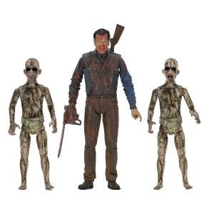 Ash vs. Evil Dead pack 3 figurines Bloody Ash vs Demon Spawn 14-18 cm NECA