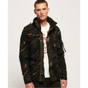 Veste en laine à quatre poches tito Superdry | La Redoute