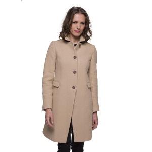 Manteau long en laine vierge TRENCH AND COAT