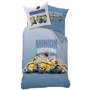 Juego de cama infantil con funda nórdica + funda de almohada, Touchdown LES MINIONS