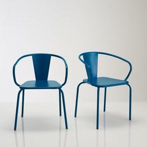Oblice metal garden chair (set of 2) La Redoute Interieurs