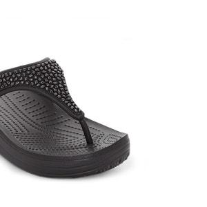 Slippers met sleehak Crocs Sloane Embellished Flip CROCS