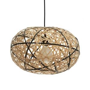 Suspension bambou naturel/noir Ø45 cm Faciende AM.PM