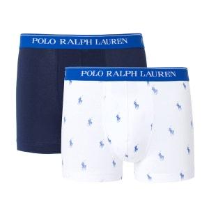 Boxers uni + imprimé POLO RALPH LAUREN (lot de 2) POLO RALPH LAUREN