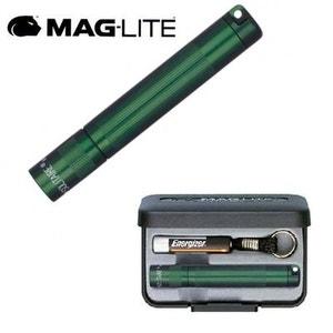 Lampe Torche Porte-cles Maglite Solitaire - Vert - 8 cm + Coffret + Pile AAA MAGLITE