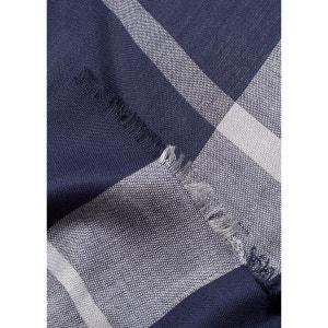 Foulard bicolore carreaux MANGO MAN