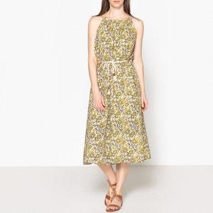 Langes Kleid RAFI, bedruckt HARTFORD