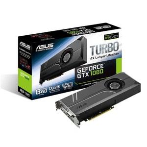 TURBO-GTX1080-8G - GeForce DVI/Dual HDMI/Dual DisplayPort - PCI Express (NVIDIAavec CUDA) DEVOLO