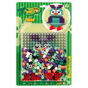 Boîte de 250 perles et plaques Hama Maxi : Blister Chouette HAMA
