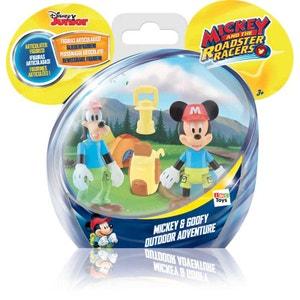 Pack 2 Figurines Mickey Et Dingo