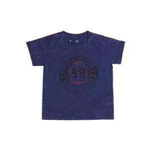 T-shirt En Coton Imprime Frontal GUESS KIDS