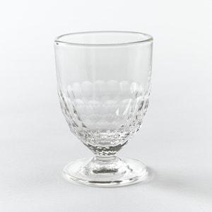 Wijnglas, honinggraat motief (set van 6), Cohani La Redoute Interieurs