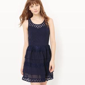 Full Lace and Ruffle Dress MOLLY BRACKEN
