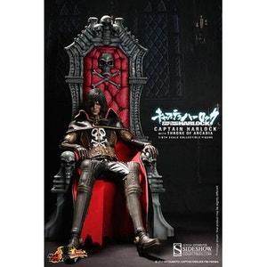 Captain Harlock figurine Movie Masterpiece 1/6 Captain Harlock avec trône Arcadia 30 cm DISNEY