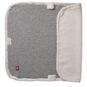 Couverture bébé 12908 gris chiné/blanc RED CASTLE