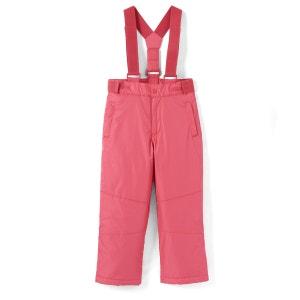 Pantalon de ski à bretelles fille 3-12 ans La Redoute Collections