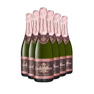 Cuvee Leonie Rose Lot de 6 bouteilles CHAMPAGNE CANARD-DUCHENE