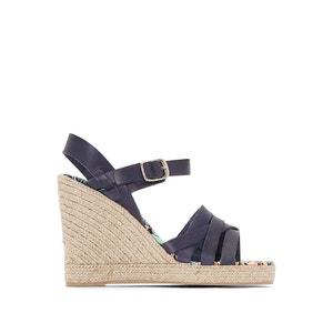 Sandálias de cunha, em pele, Astrid PARE GABIA