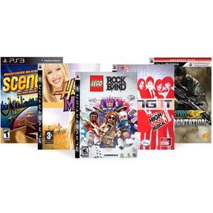 Pack 5 jeux musicaux - PS3 NONAME