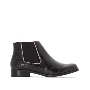Boots in Kroko-Optik Alexia MELLOW YELLOW