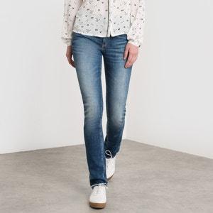 Skinny jeans met hoge taille LE TEMPS DES CERISES