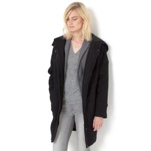 Manteau forme ovoïde, à capuche R essentiel