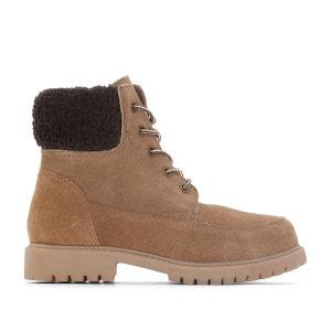 Boots à col fourré 26-39 La Redoute Collections