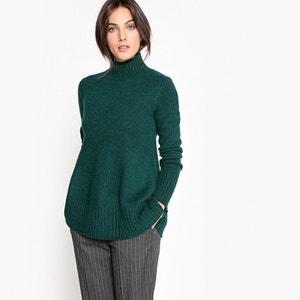 Camisola-túnica, lã e alpaca La Redoute Collections