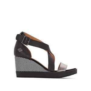 Sandales cuir à talon compensé Wellton Nca/Ilm P-L-D-M-BY PALLADIUM