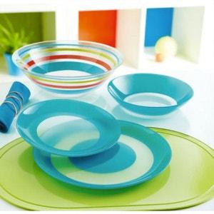 Service de vaisselle bleu 19 pièces Simply Colors LUMINARC